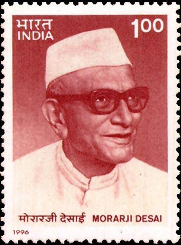 Morarji Desai.