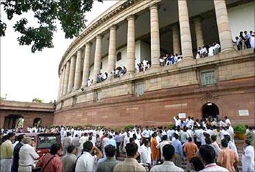 Indian Parliament.