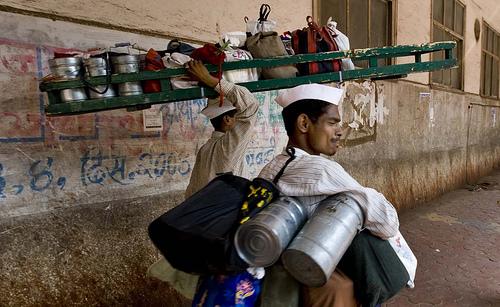 Mumbai dabbawallas.