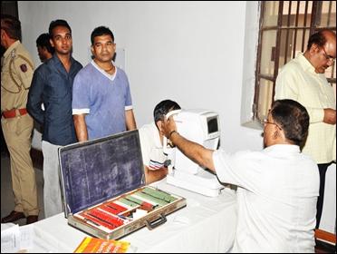 Tihar jail inmates.