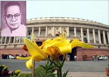 T T Krishnamachari (inset).