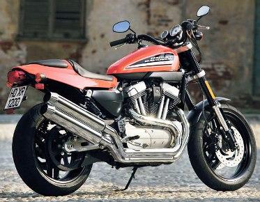 A Harley-Davidson bike.