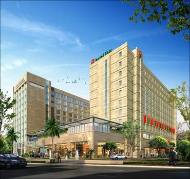 An Ibis hotel.