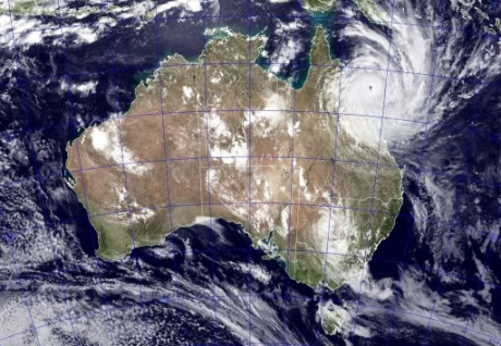 Aussie cyclone batters India's steel producers