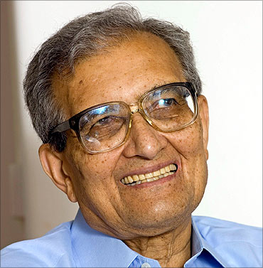 Nobel Laureate  Amartya Sen.