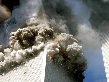 9/11 attacks hit the US economy.