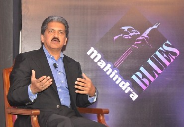 Anand Mahindra, chairman and managing director of Mahindra and Mahindra