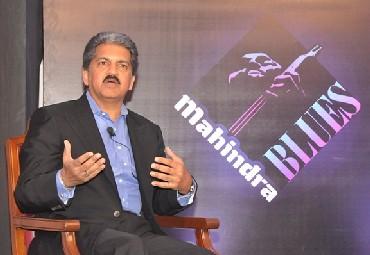 Anand Mahindra, chairman and managing director of Mahindra and Mahindra.