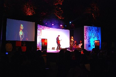 Performers at Mahindra Excellence in Theatre Awards night