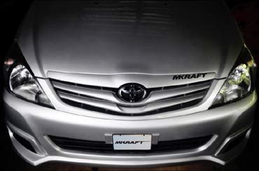 A luxury Toyota Innova, MKrafted with passion!
