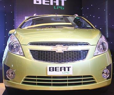 Chevrolet Beat LPG.