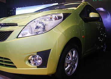 Chevrolet Beat LPG is here at Rs 410,000