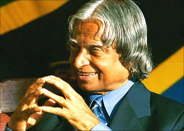 Former President A P J Abdul Kalam.
