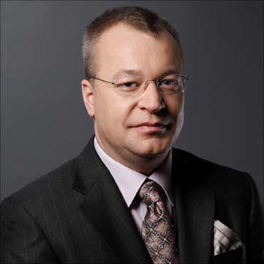 Nokia president and CEO Stephen Elop.