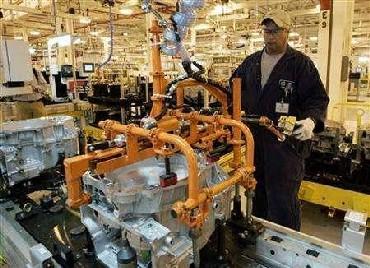 A General Motors Corp factory
