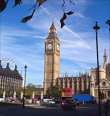 The Big Ben.