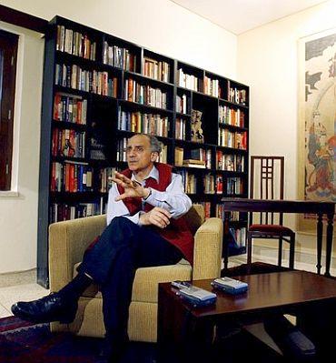 Former Telecom Minister Arun Shourie.