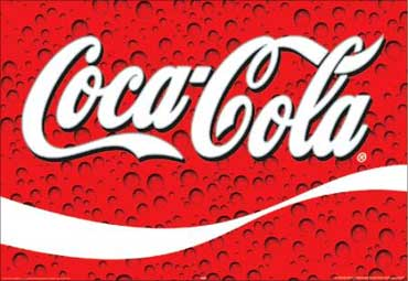 The Coca-Cola logo.