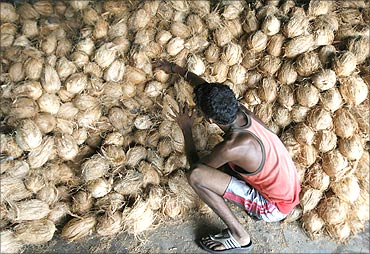 The cooperative has introduced products like coir fibre, coir yarn, corridor mats and curled coir