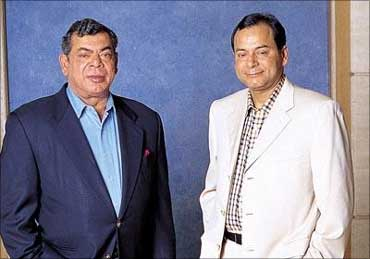 Shashi and Ravi Ruia.