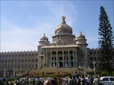 Vidhan Soudha, Bengaluru.