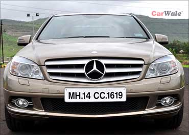 Mercedes C200 is an environment-friendly car