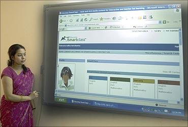 Digital classroom.