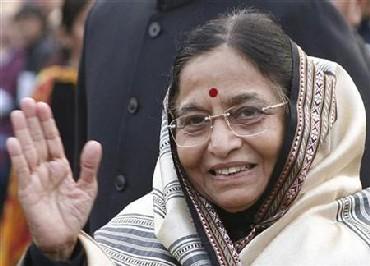 President Pratibha Patil.