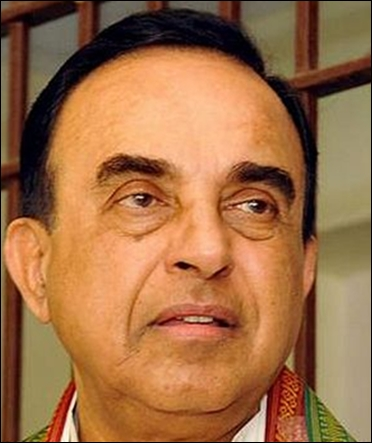 Janata Party chief Subramanian Swamy.