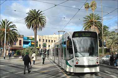 Melbourne is home to the world's largest tram network.