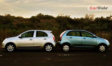 Micra Diesel vs Indica Vista Quad! Who's the winner?