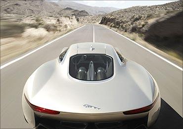 C-X75 concept car.