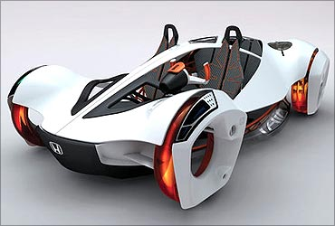 Honda's Air concept car.
