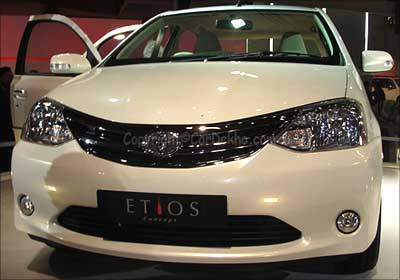 Etios is giving a fight to luxury sedans