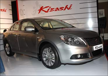 Maruti Kizashi is a completely built unit