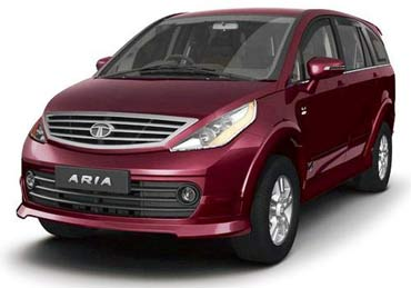 Tata Aria is priced at the higher end