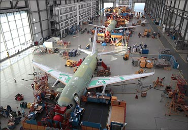 How the giant Airbus is made!