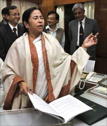 Mamata ready with her Rail Budget.