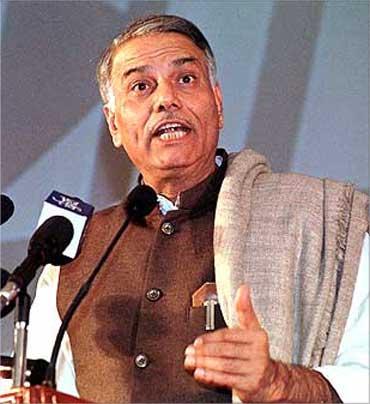 Yashwant Sinha.
