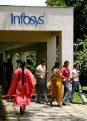 Funds in education, infra should continue: Infy
