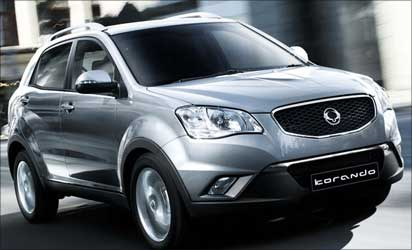 The Korando from Ssangyong.