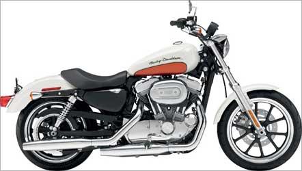 Harley-Davidson's Sportster SuperLow.