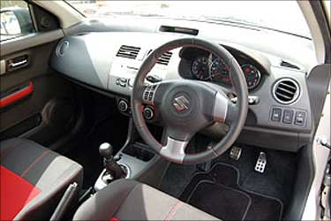 Interior of Swift.
