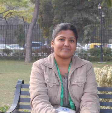 Subhatra Priyadarshini, owner of Delhi-based start-up Choc Of The Town.
