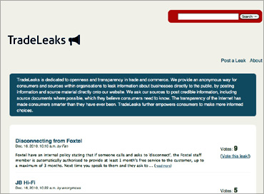 Tradeleaks.