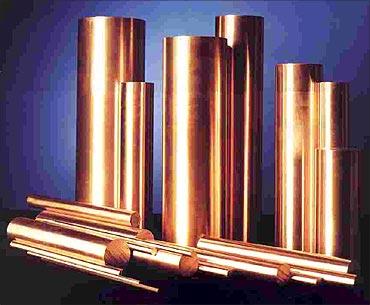 Copper prices rise.