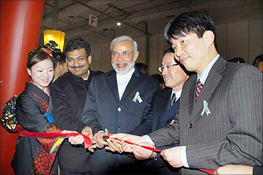 Modi: Iron man to ladies' man with focus on growth