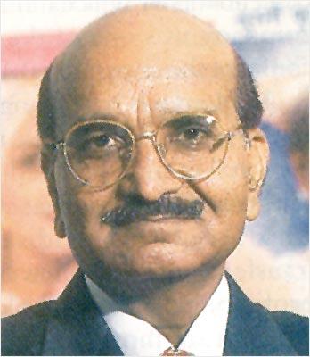 Nirma chairman Karsanbhai Patel.