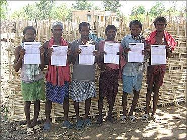 NREGA workers.