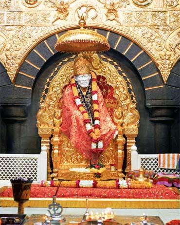 Shri Sai Baba Samadhi Mandir.